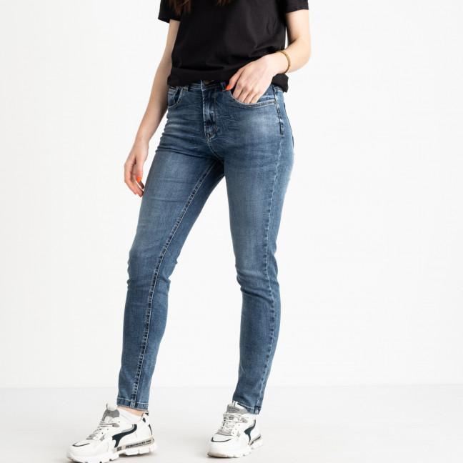 0507-6 A Relucky джинсы полубатальные женские синие стрейчевые (6 ед. размеры: 28.29.30.31.32.33) Relucky: артикул 1120687
