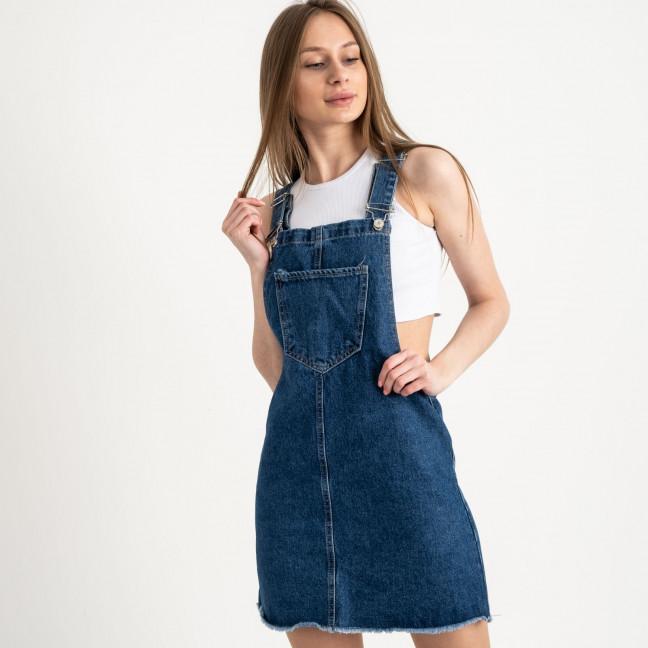 2964-4 Xray сарафан джинсовый синий котоновый ( 4 ед. размеры: 34.36.38.40) XRAY: артикул 1122019