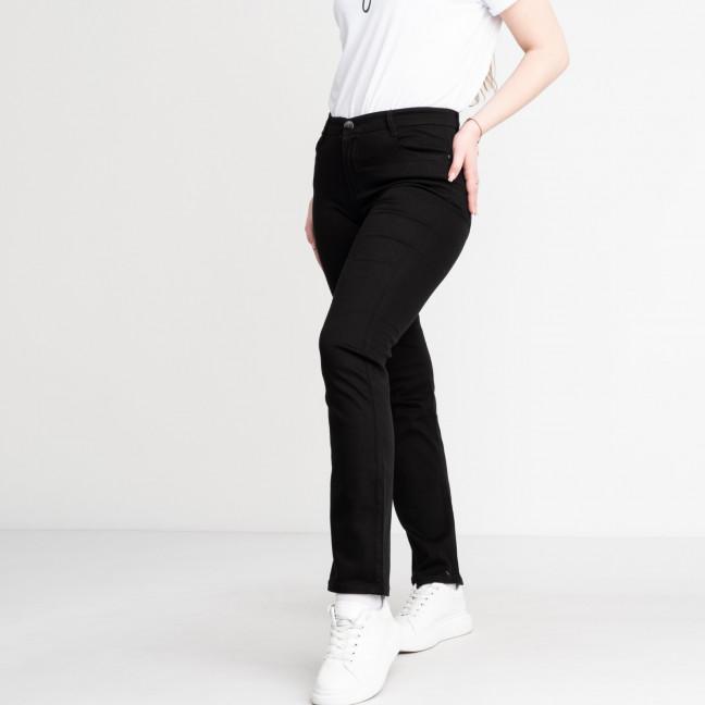 9766-1 Sunbird черные джинсы женские батальные  стрейчевые (6 ед. размеры: 31.33.35.37.39.42) Sunbird: артикул 1118696