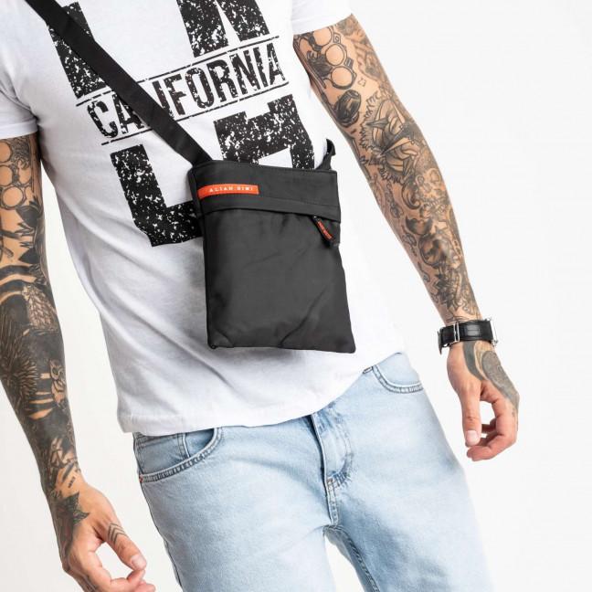 0068 черная наплечная сумка мужская (10 ед.) Сумка: артикул 1121213