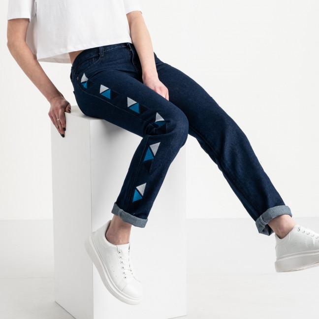 0055 Jushioumfiva джинсы женские синие котоновые ( 6 ед. размеры: 25.26.27.28.29.30) Jushioumfiva: артикул 1118827