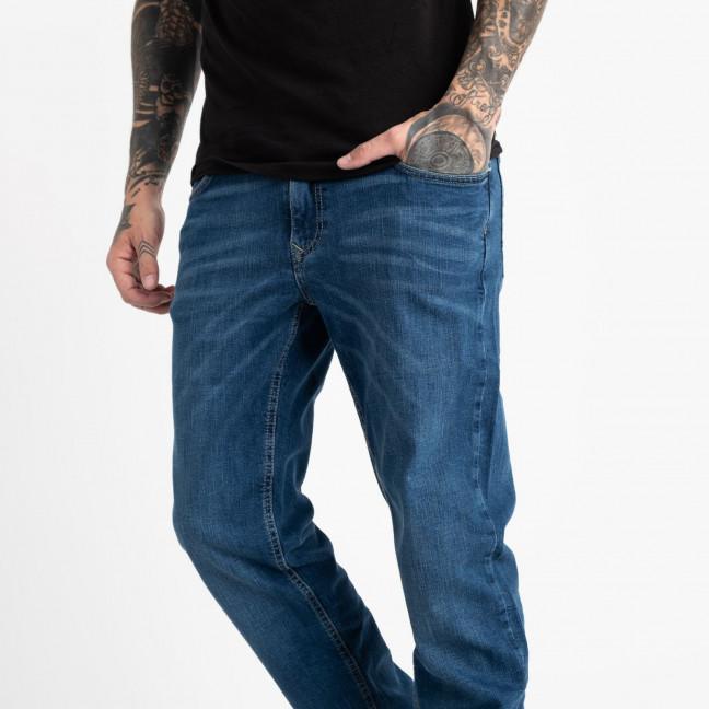 1935-3 Nescoly джинсы мужские синие стрейчевые (7 ед. размеры: 30/2.32.34.36.38.40) Nescoly: артикул 1120507