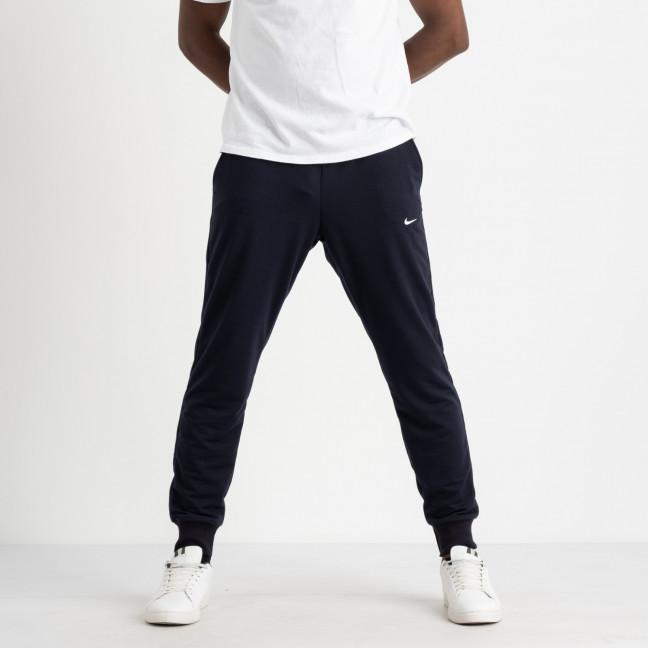 1621-2 Mishely синие мужские спортивные штаны из двунитки (4 ед. размеры: M.L.XL.2XL) Mishely: артикул 1123724