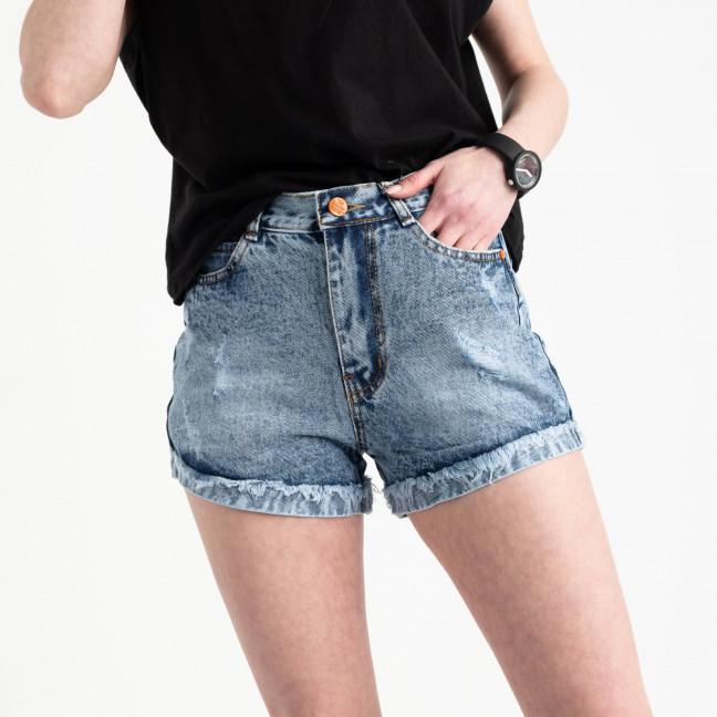 0050-15 A Relucky шорты голубые женские котоновые (6 ед. размеры: 25.26.27.28.29.30) Relucky: артикул 1120051