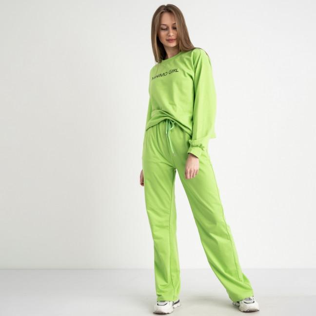 7807-4 M&C спортивный костюм женский зеленый (3 ед. размеры: универсал S-L ) M&C: артикул 1122648