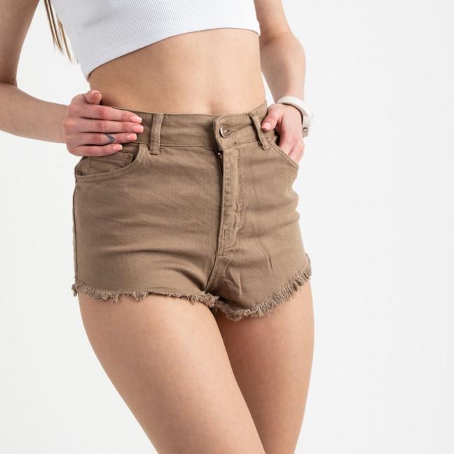 0031-5 Arox шорты джинсовые бежевые стрейчевые ( 6 ед. размеры: 25.26.27.28.29.30) Arox: артикул 1122258