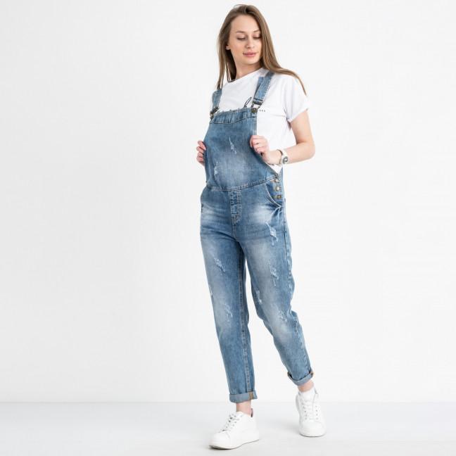 3316-1 Relucky комбинезон джинсовый голубой котоновый (6 ед. размеры: 25.26.27.28.29.30)  Relucky: артикул 1121946