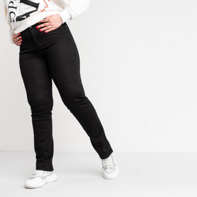 9767 Sunbird черные джинсы женские батальные  стрейчевые (6 ед.размеры: 30.32.34.36.38.40) Sunbird: артикул 1104641