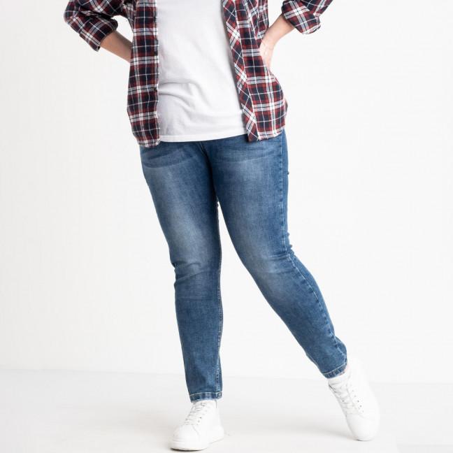 0556-8 AF Relucky джинсы батальные женские синие стрейчевые (6 ед. размеры: 31.32.33.34.36.38) Relucky: артикул 1120685