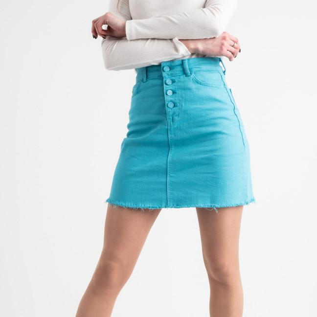 1901 Arox юбка джинсовая голубая котоновая (4 ед. размеры: 34.36.38.40) Arox: артикул 1118541