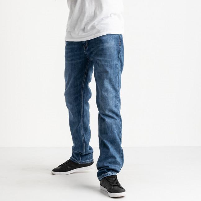 20777 Reigouse джинсы полубатальные мужские синие стрейчевые (8 ед. размеры: 32.33.33.3.34.36.36.38) REIGOUSE: артикул 1118626