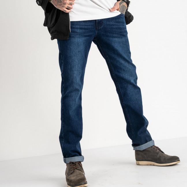 0108 Vitions джинсы полубатальные синие стрейчевые (8 ед. размеры: 32.33.33.34.34.36.36.38) Vitions: артикул 1118305