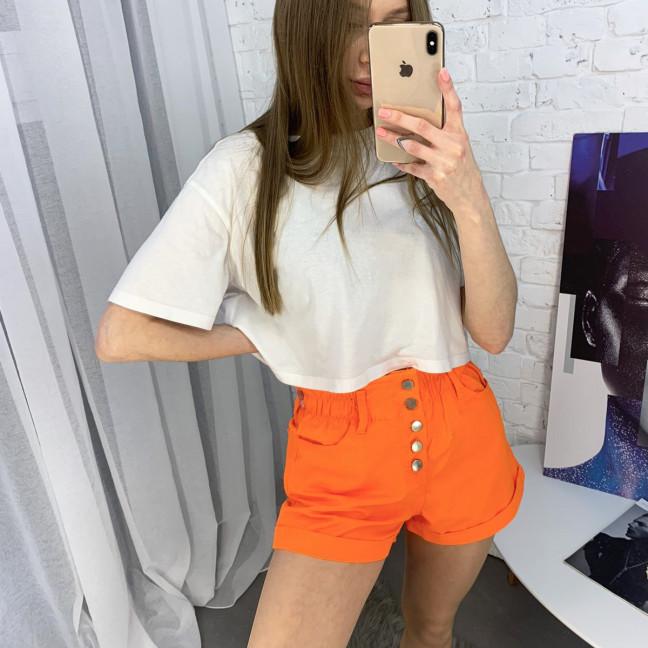3373-3 Defile шорты джинсовые оранжевые котоновые ( 6 ед. размеры: 34.36/2.38/2.40) Defile: артикул 1122209