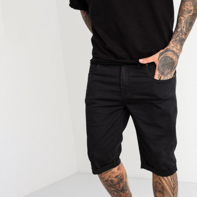 1962 Nescoly шорты джинсовые черные стрейчевые (8 ед. размеры: 30.32.34/2.36/2.38.40) Nescoly: артикул 1121893