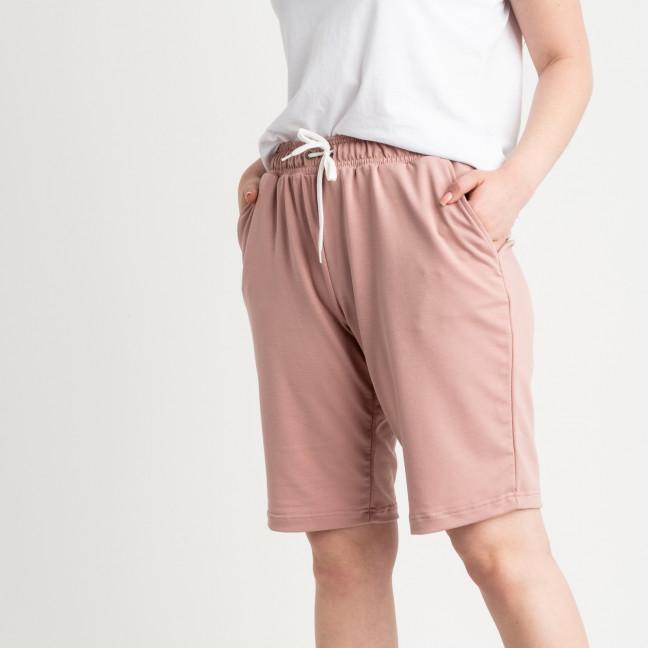 2230-7 Mishely шорты пудровые женские батальные из двунитки ( 4 ед. размеры: 50.52.54.56) Mishely: артикул 1122687