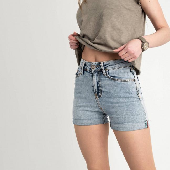 3798-17 Arox шорты джинсовые голубые стрейчевые ( 6 ед. размеры: 26.27.28.29.30.31 ) Arox: артикул 1122235