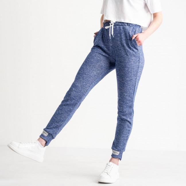 1420-5 электрик спортивные штаны женские из двунитки (4 ед. размеры: S.M.L.XL) Спортивные штаны: артикул 1119076