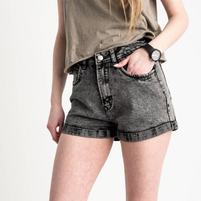 0051-9 A Relucky шорты серые женские стрейчевые (6 ед. размеры: 25.26.27.28.29.30) Relucky: артикул 1120052