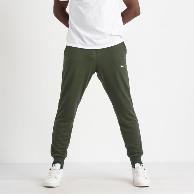 1621-3 Mishely хаки мужские спортивные штаны из двунитки (4 ед. размеры: M.L.XL.2XL) Mishely: артикул 1123725