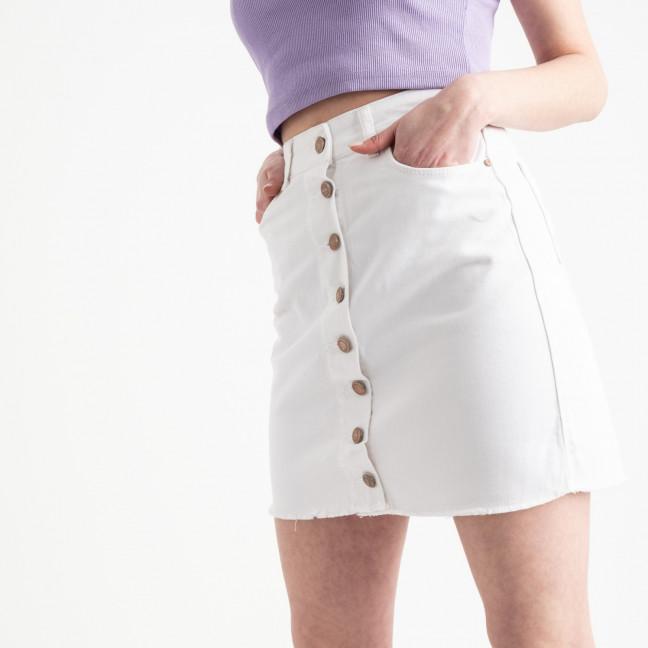 0002-752 Arox юбка на пуговицах белая котоновая (4 ед. размеры: 34.36.38.40) Arox: артикул 1118976