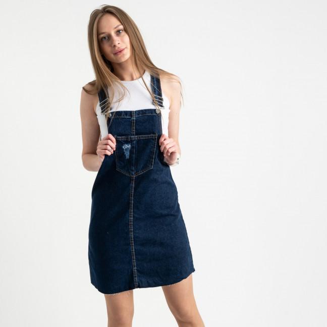 3900 Defile сарафан джинсовый синий котоновый ( 6 ед. размеры: 34.36/2.38/2.40) Defile: артикул 1122006