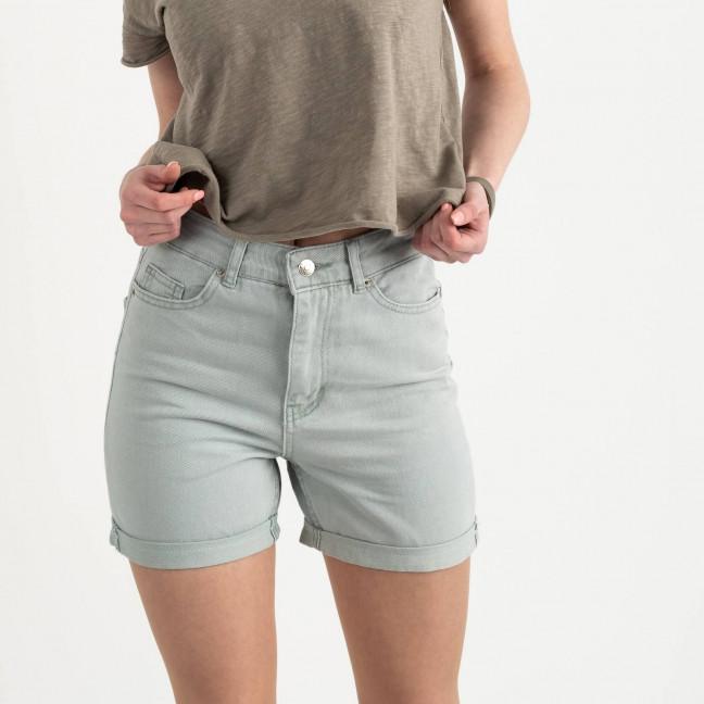 0022 R шорты джинсовые оливковые котоновые ( 8 ед. размеры: 25.26/2.28/2.30/2.32) Шорты: артикул 1122196
