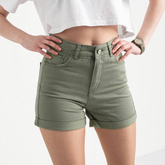 2107 MOM шорты женские хаки котоновые (6 ед. размеры: 25.26/2.28.30.32) MOM: артикул 1120533