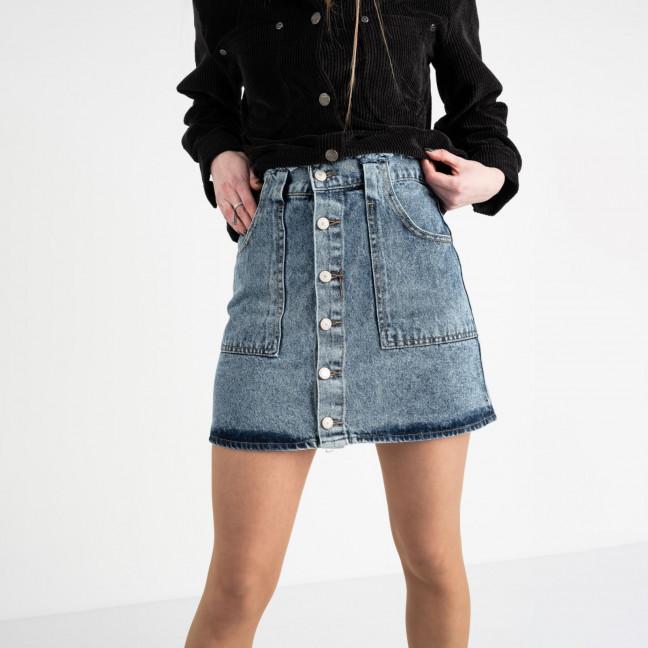 2958-1 Arox юбка джинсовая голубая котоновая (6 ед. размеры: 34.36.36.38.38.40) Arox: артикул 1118548