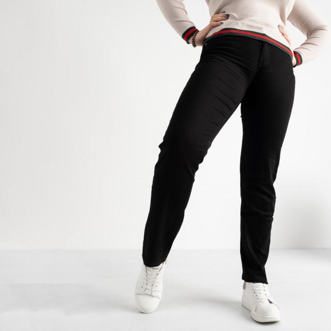 9760-1 Sunbird черные джинсы женские батальные стрейчевые (6 ед. размеры: 33.34.35.36.37.38) Sunbird: артикул 1104230