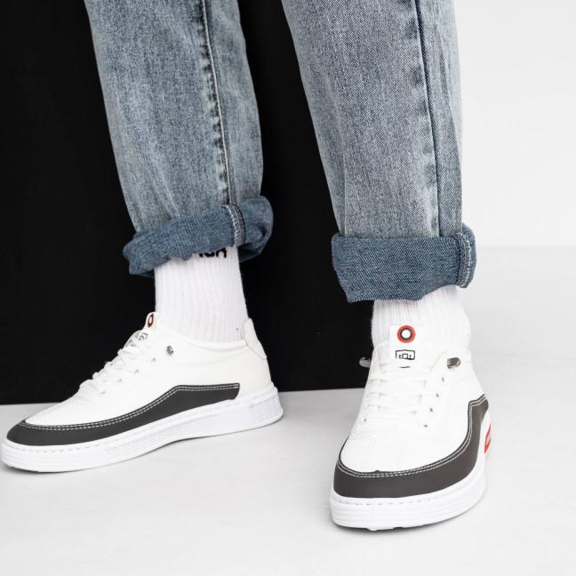 091020-2 белые кроссовки мужские (8 ед. размеры: 39.40.41.42.42.43.43.44) Кроссовки: артикул 1119466