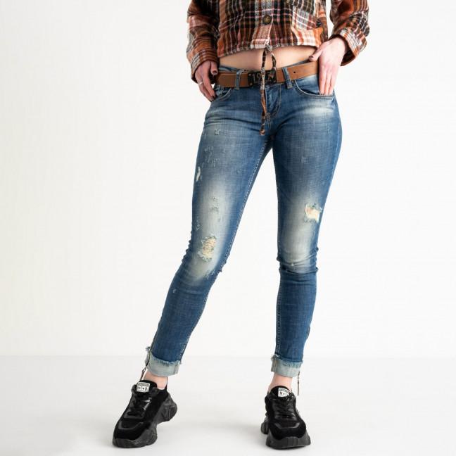 1604-7422 A.N.G джинсы синие стрейчевые (4 ед. размеры: 26.27.27.28) A.N.G.: артикул 1118508