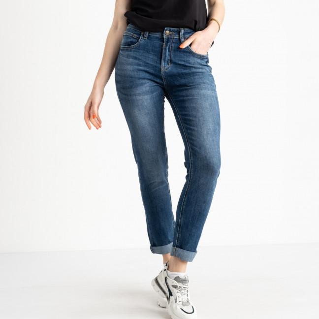 0546-8 A Relucky джинсы полубатальные женские синие стрейчевые (6 ед. размеры: 28.29.30.31.32.33) Relucky: артикул 1120683