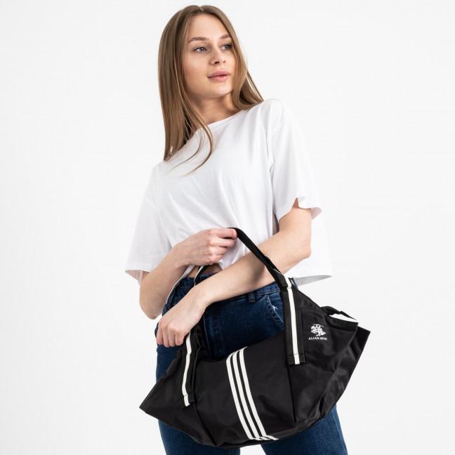 0006 черная спортивная сумка женская  (5 ед )  Сумка: артикул 1121149