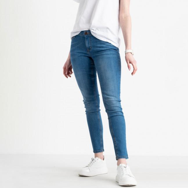 1941-7 Nescoly джинсы женские голубые стрейчевые ( 7 ед. размеры: 24.25.26.27/2.28/2) Nescoly: артикул 1120378
