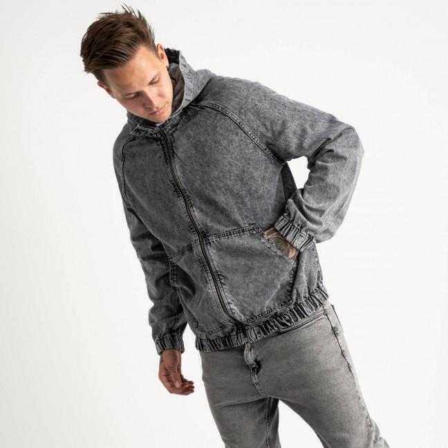 0028-2 In Yesir куртка джинсовая серая котоновая (6 ед. размеры: S.M.L/2.XL.XXL) In Yesir: артикул 1121440