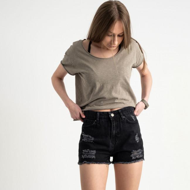 3347 шорты черные джинсовые котоновые ( 8 ед. размеры:25/2.26/3.28/2.30 ) Шорты: артикул 1122202