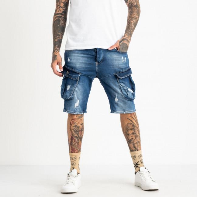 13690-1 Lose шорты джинсовые мужские стрейчевые ( 8 ед. размеры: 30.31.32/2.33.34.36.38) Lose: артикул 1121906