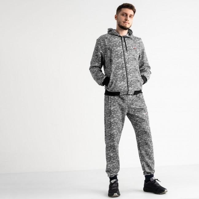 16200-1 черный спортивный костюм из двунитки (4 ед. размеры: 46.48.50.52) Спортивный костюм: артикул 1118581