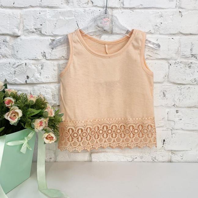 1021-2 футболка персиковая на девочку 1.5-3 года (3 ед. размеры:86.92.98) Маленьке сонечко: артикул 1121816
