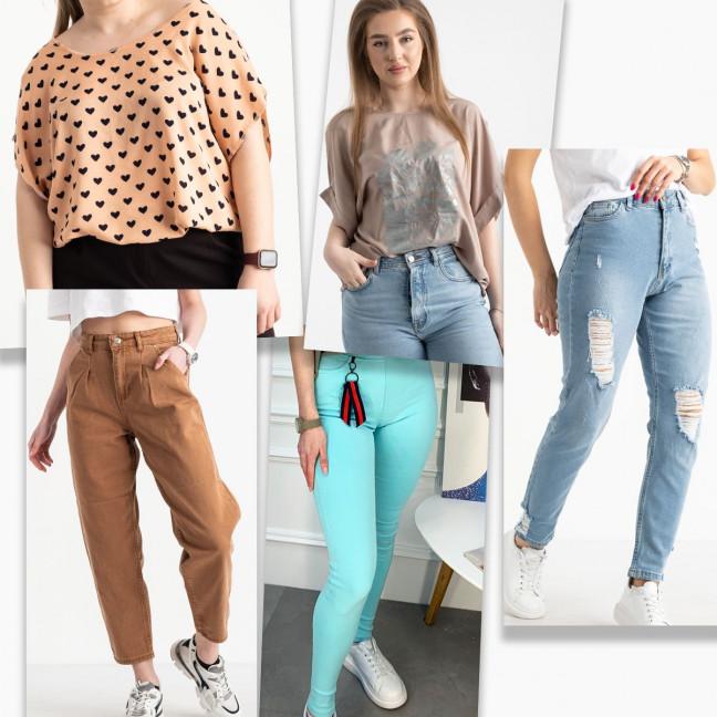 10065 микс женской одежды с дефектами (5 ед.) МИКС: артикул 1122521