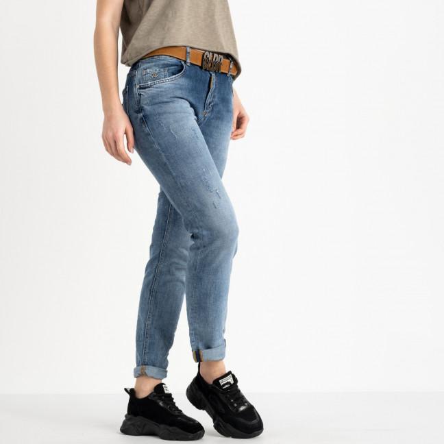 9478-B-704 Colibri джинсы полубатальные голубые стрейчевые (6 ед. размеры: 28.29.30.31.32.33) Colibri: артикул 1118818