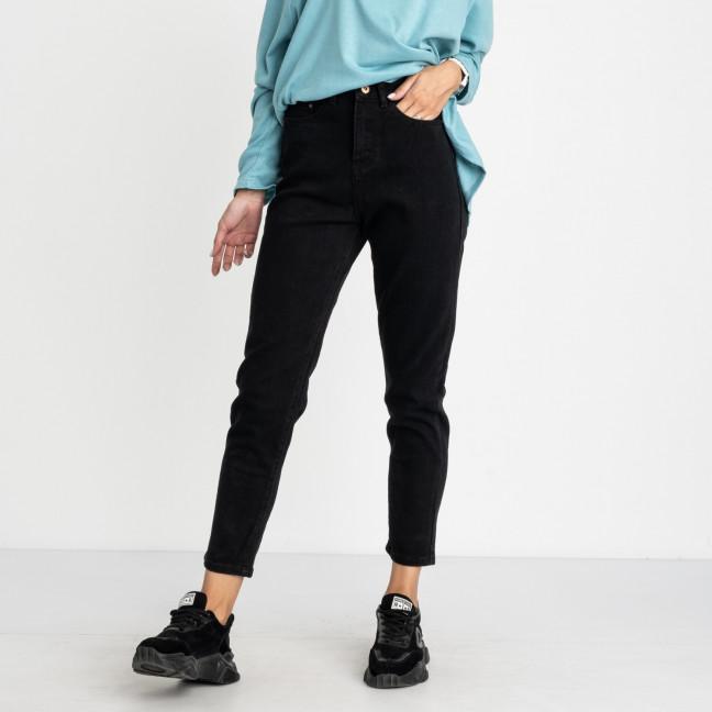 5013 New Jeans мом черный стрейчевый (6 ед. размеры: 25.26.27.28.29.30) New Jeans: артикул 1123630