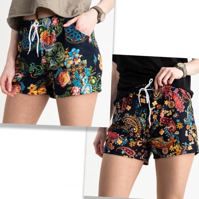 1540 Callin шорты женские цветные микс 2-х моделей (12 ед. размеры: M/3.L/3.XL/3.2XL/3) Callin: артикул 1120439