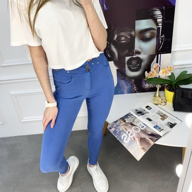 0907-6 Yimeite синие брюки женские стрейчевые (6 ед. размеры: 25.26.27.28.29.30) Yimeite: артикул 1120724