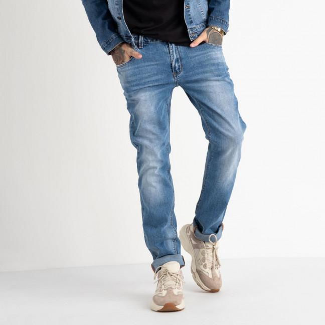 2061 Fang джинсы голубые стрейчевые (8 ед. размеры: 29.30.31.32.33.34.35.36) Fang: артикул 1118351