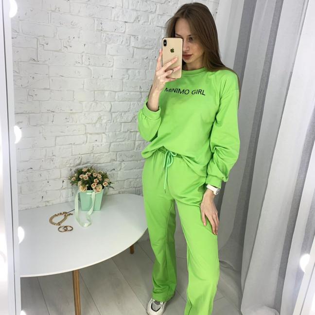 7807-4 M&C спортивный костюм женский зеленый (3 ед. размеры: универсал S-L ) M&C: артикул 1122647