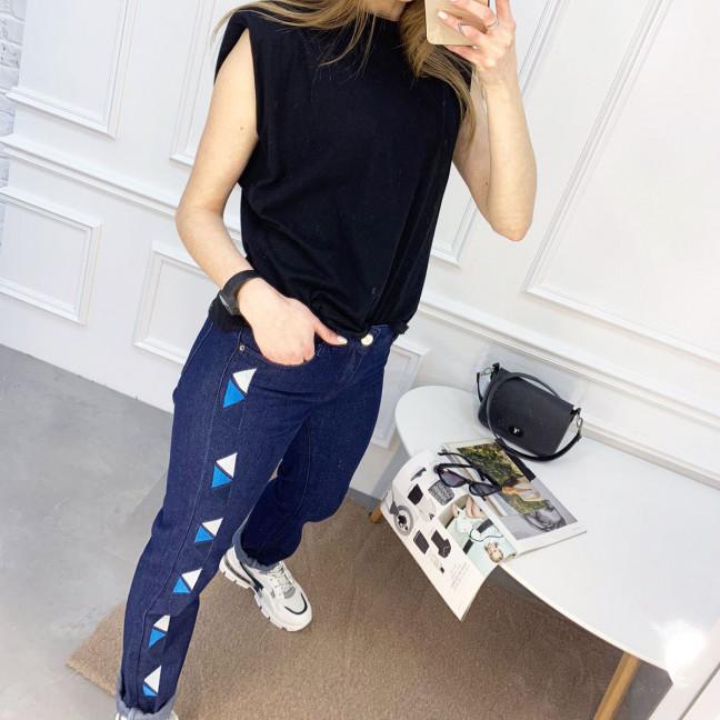 0055 Jushioumfiva джинсы женские синие котоновые (6 ед. размеры: 25.26.27.28.29.30) Jushioumfiva: артикул 1119586