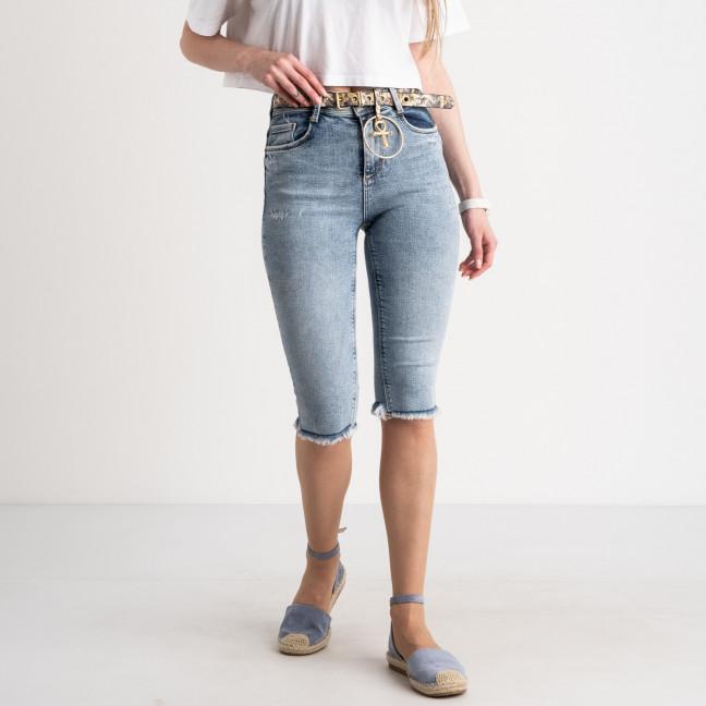 0639 Whats Up 90s шорты женские голубые стрейчевые (5 ед. размеры: 26.27.28.29.30) Whats up 90s: артикул 1122591
