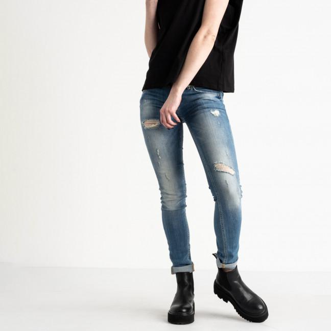 9364-581-02 Colibri джинсы женские голубые стрейчевые (5 ед. размеры: 25.25.26.27.29) Colibri: артикул 1118806
