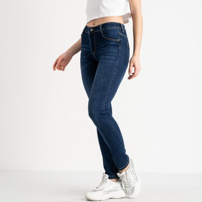 0607 Fashion jeans джинсы полубатальные женские синие стрейчевые (6 ед. размеры: 28.29.30.31.32.33) Fashion jeans: артикул 1118254